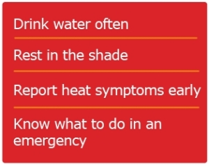Avoid Heat Injury