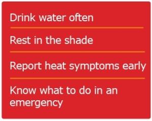 Avoid Heat Injury
