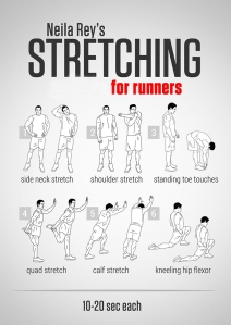 Runner stretches