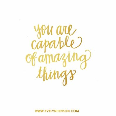 You are  capable