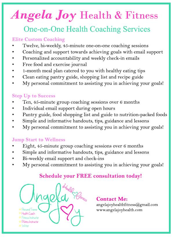 Angela Joy Health Coaching Services