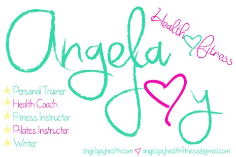 Angela Joy Health Fitness Cover Letter