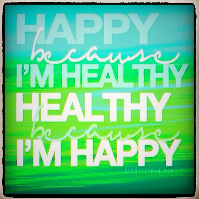 Healthy happiness
