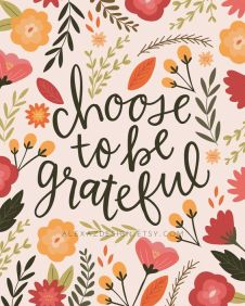 Grateful choice