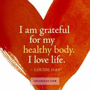 Grateful for body